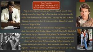 Tom Cassidy C.E.O. & President
