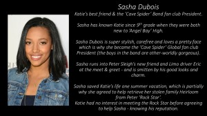 Global Fan Club President - Sasha Dubois!