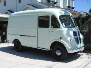 a blog van