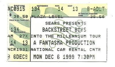 Backstreet-Boys-Concert-12-6-99-Ticket-Stub