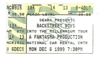Backstreet-Boys-Concert-12-6-99-Ticket-Stub